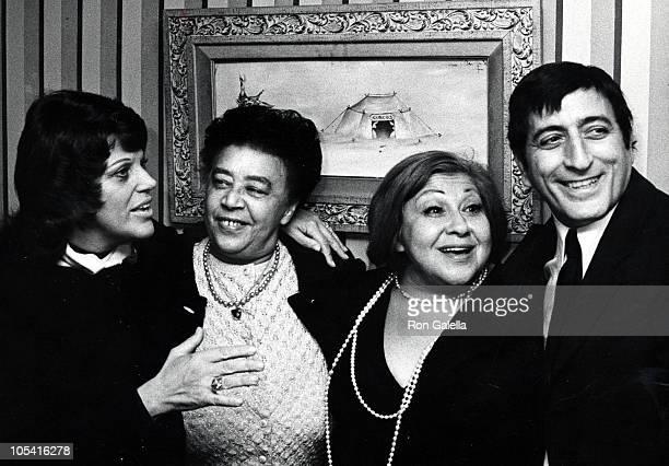 Kaye Ballard Mabel Mercer Sylvia Sims and Tony Bennett