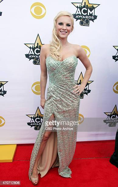 Kayla Adams at the 50TH ACADEMY OF COUNTRY MUSIC AWARDS from ATT Stadium in Arlington Texas on Sunday April 19 2015 on the CBS Television Network