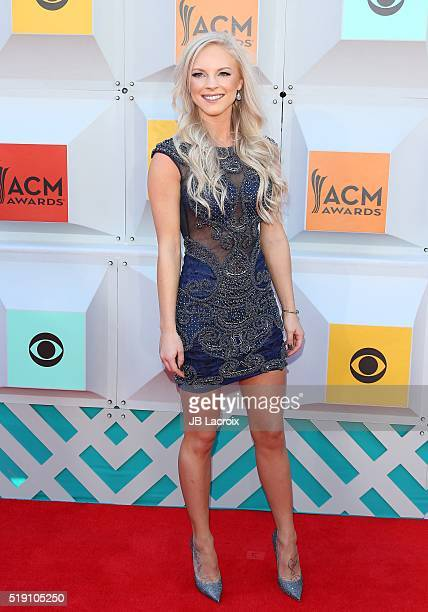 Kayla Adams attends the 51st Academy of Country Music Awards at MGM Grand Garden Arena on April 3 2016 in Las Vegas Nevada