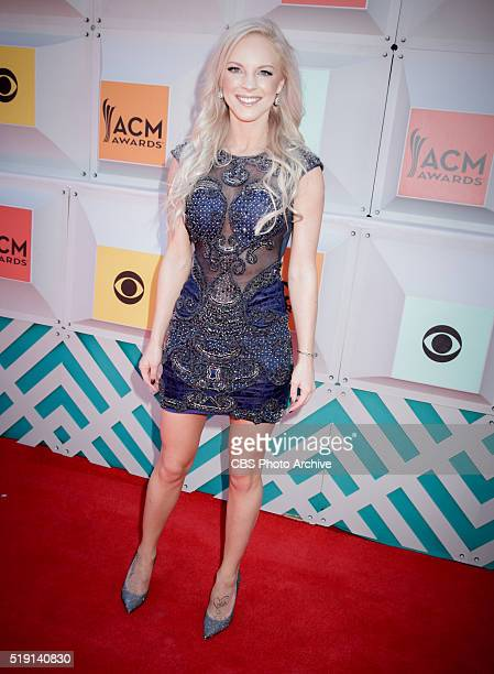 Kayla Adams on The Red Carpet at the 51st ACADEMY OF COUNTRY MUSIC AWARDS cohosted by Luke Bryan and Dierks Bentley from the MGM Grand Garden Arena...