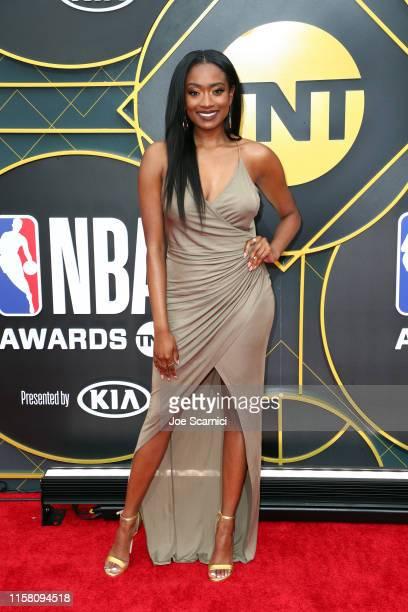 Kayla Brianna attends the 2019 NBA Awards presented by Kia on TNT at Barker Hangar on June 24, 2019 in Santa Monica, California.