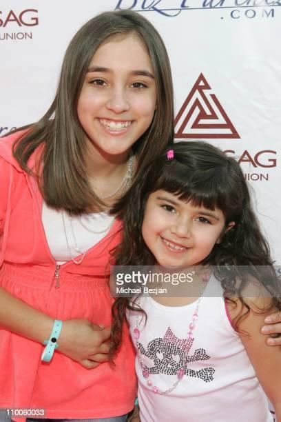 Kayla Esposto and Kiana Esposto during 2007 CARE Awards Presented by the Bizparentz Foundation at Universal Studios Hollywood in Universal City CA...