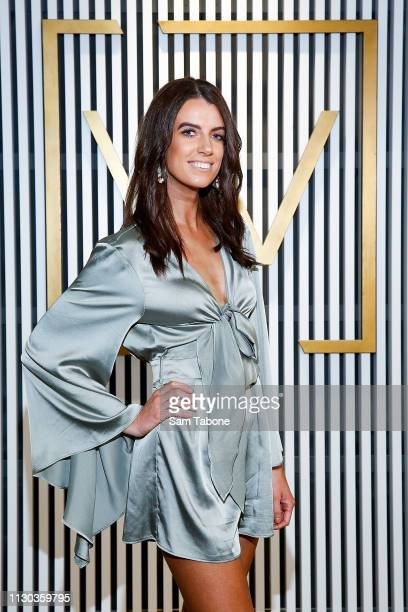 Kayla Gray attends Melbourne's Most Influential People Cocktail Party on March 14 2019 in Melbourne Australia