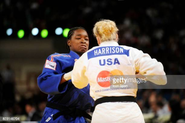Kayla HARRISON / Audrey TCHEUMEO Demi Finale 78kg Championnats du Monde de Judo 2011 Paris