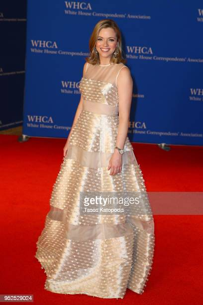 Kayla Tausche attends the 2018 White House Correspondents' Dinner at Washington Hilton on April 28 2018 in Washington DC