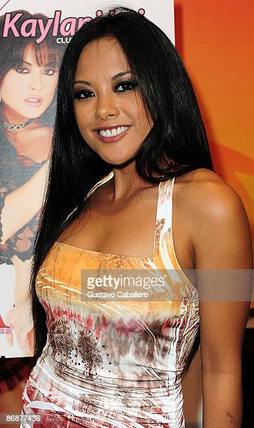 Kaylani Lei attends Exxxotica Miami Beach at Miami Beach Convention Center on May 9, 2009 in Miami Beach, Florida.