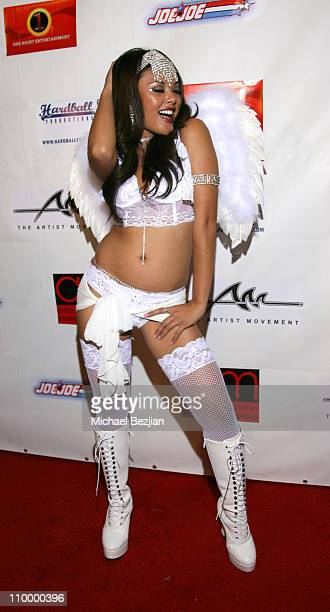 Kaylani Lei during Dave Navarro's Halloween Lingerie and Costume Ball at The Highlands in Hollywood, Califonia, United States.
