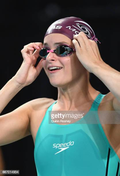 Kaylee McKeown of Australia prepares to race in the Women's 50m Backstroke during the 2017 Australian Swimming Championships at the Sleeman Sports...