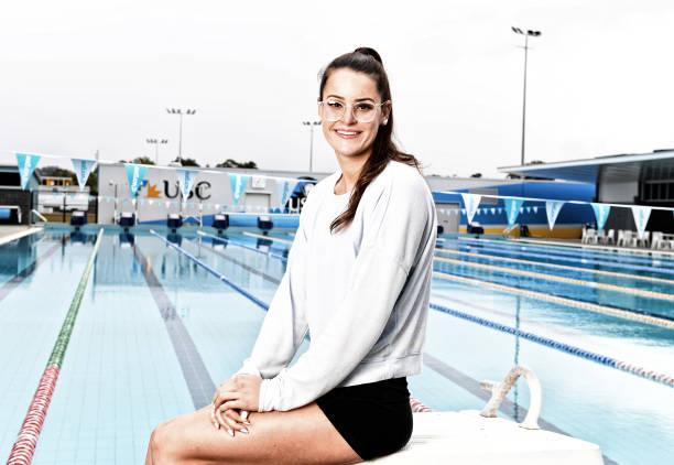 AUS: Swimming Australia Media Opportunity With Kaylee McKeown