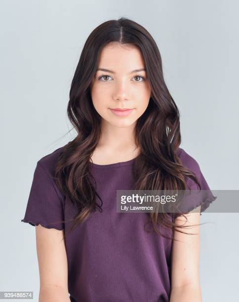Kaylee Quinn poses for portrait wearing Moonstar Beauty at The Artists Project Giveback Day on March 28 2018 in Los Angeles California
