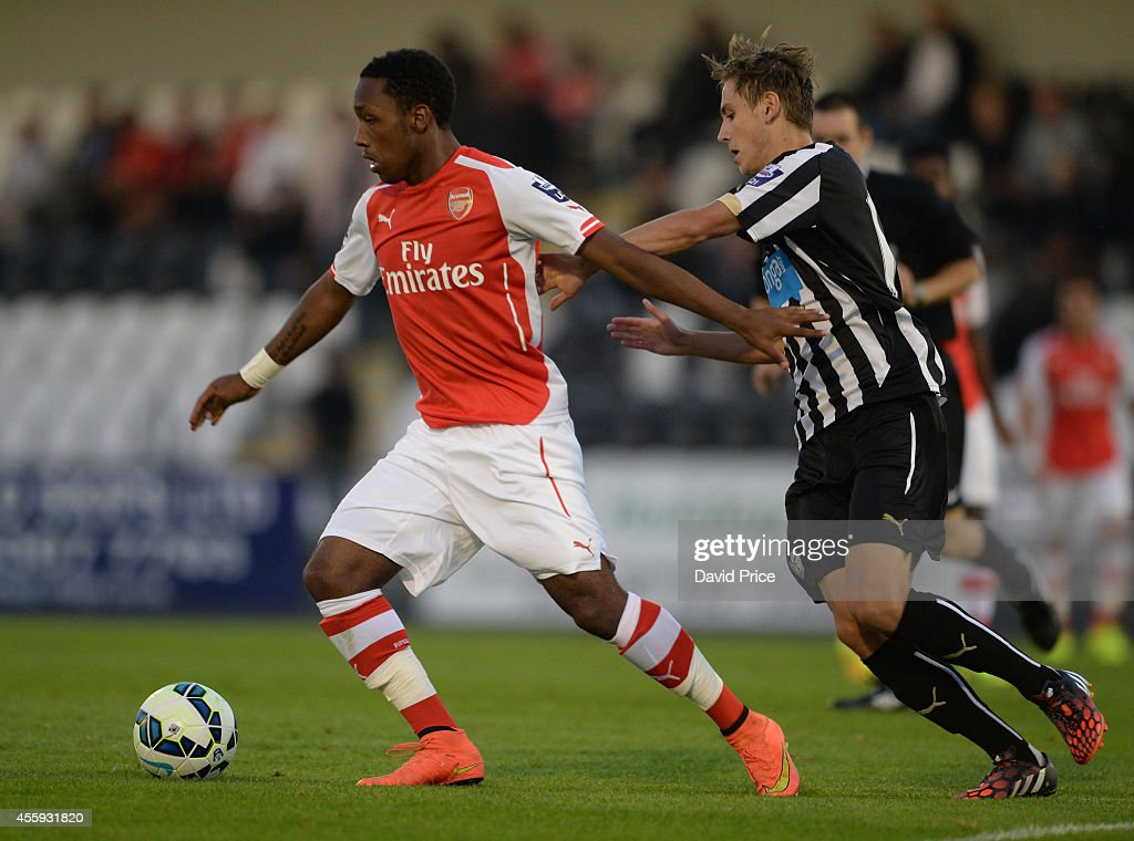 Arsenal v Newcastle United: Barclays U21 League : News Photo