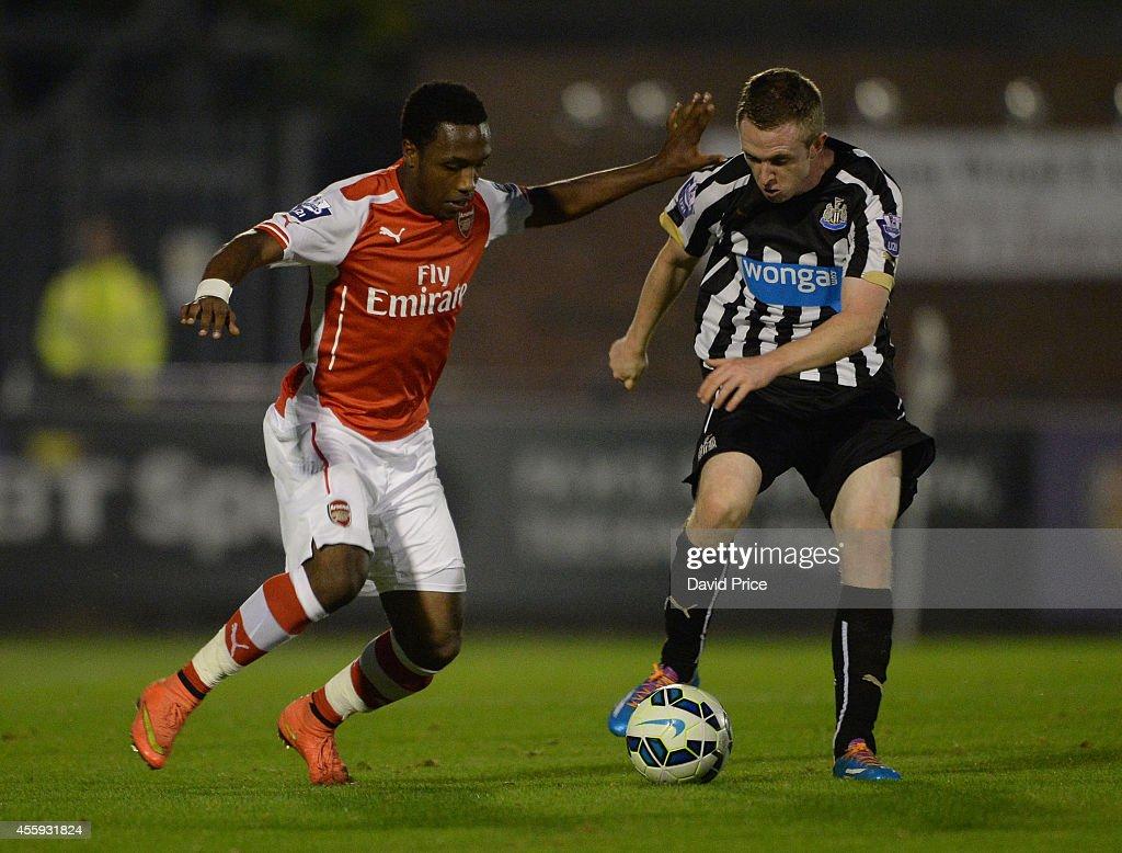 Arsenal v Newcastle United: Barclays U21 League : News Photo