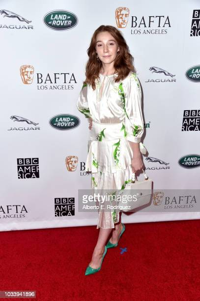 Kayli Carter attends BAFTA Los Angeles BBC America TV Tea Party 2018 at The Beverly Hilton Hotel on September 15 2018 in Beverly Hills California