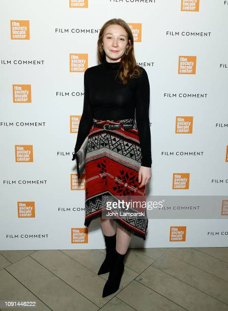 Kayli Carter attends Film Society of Lincoln Center Film Comment Annual Luncheon at Lincoln Ristorante on January 08 2019 in New York City