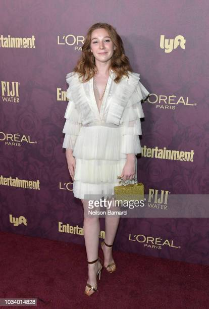 Kayli Carter attends the 2018 PreEmmy Party hosted by Entertainment Weekly and L'Oreal Paris at Sunset Tower on September 15 2018 in Los Angeles...