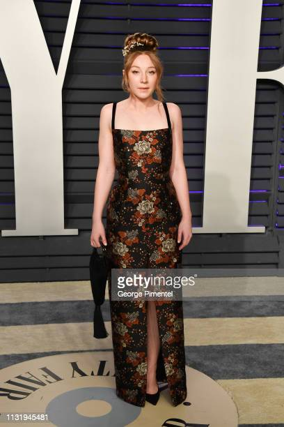Kayli Carter attends the 2019 Vanity Fair Oscar Party hosted by Radhika Jones at Wallis Annenberg Center for the Performing Arts on February 24 2019...