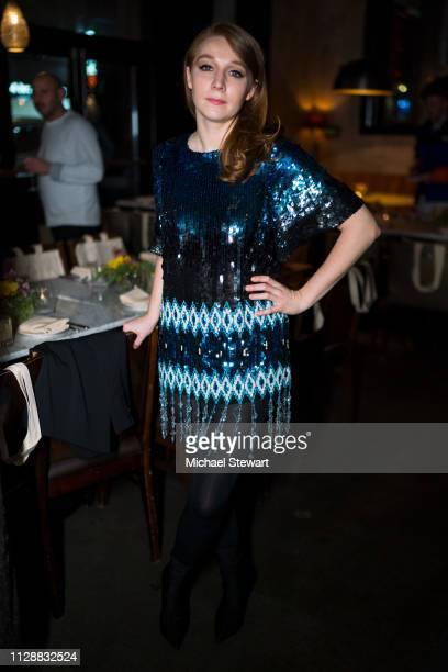 Kayli Carter attends the Prabal Gurung after party dinner at Baar Baar on February 10 2019 in New York City