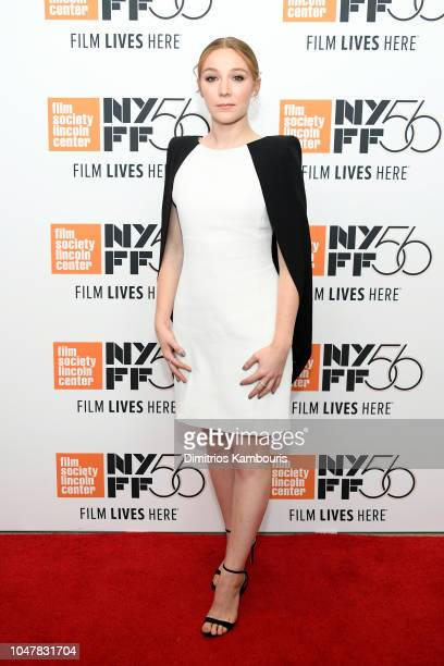 Kayli Carter attends the Private Life premiere during the 56th New York Film Festival at Alice Tully Hall Lincoln Center on October 01 2018 in New...