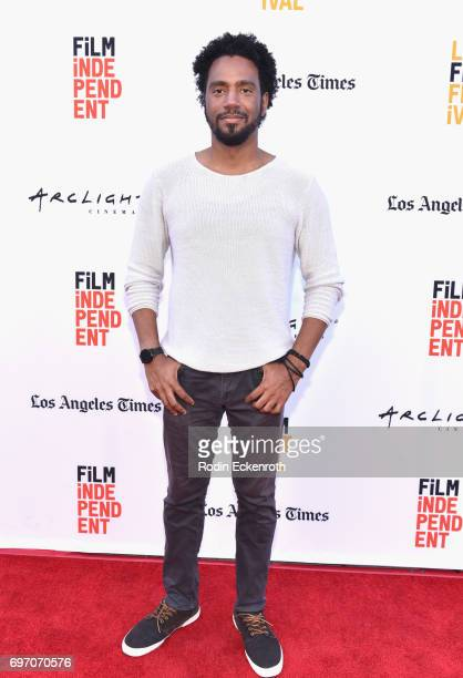 Kaylon Hunt attends Shorts Program 1 during the 2017 Los Angeles Film Festival at Arclight Cinemas Culver City on June 17 2017 in Culver City...