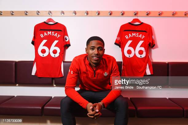 Kayne Ramsay during a player photoshoot pictured at Staplewood Complex on February 5 2019 in Southampton England
