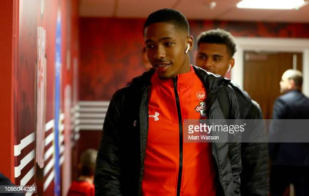 Kayne Ramsay of Southampton ahead of the FA Cup Third Round Replay match between Southampton FC and Derby County at St Mary's Stadium on January 16...
