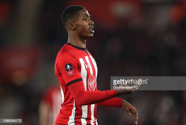 Kayne Ramsay of Southampton looks on during the FA Cup Third Round Replay match between Southampton FC and Derby County at St Mary's Stadium on...