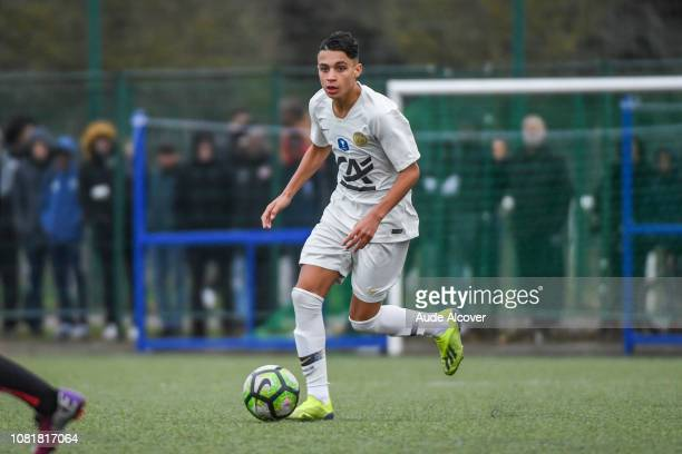 Kays Ruiz of Psg during the Cup Gambardella match between Fleury and Paris Saint Germain on January 13 2019 in Fleury France
