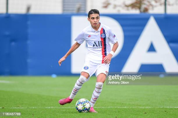 Kays RUIZ of PSG during the Youth League match between Paris Saint Germain and Bruges at Camp des Loges on November 6 2019 in Paris France