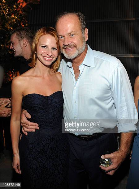 Kayte Grammer and actor Kelsey Grammer attend the after party for the STARZ Los Angeles Premiere Event for Original Series Boss Starring Kelsey...