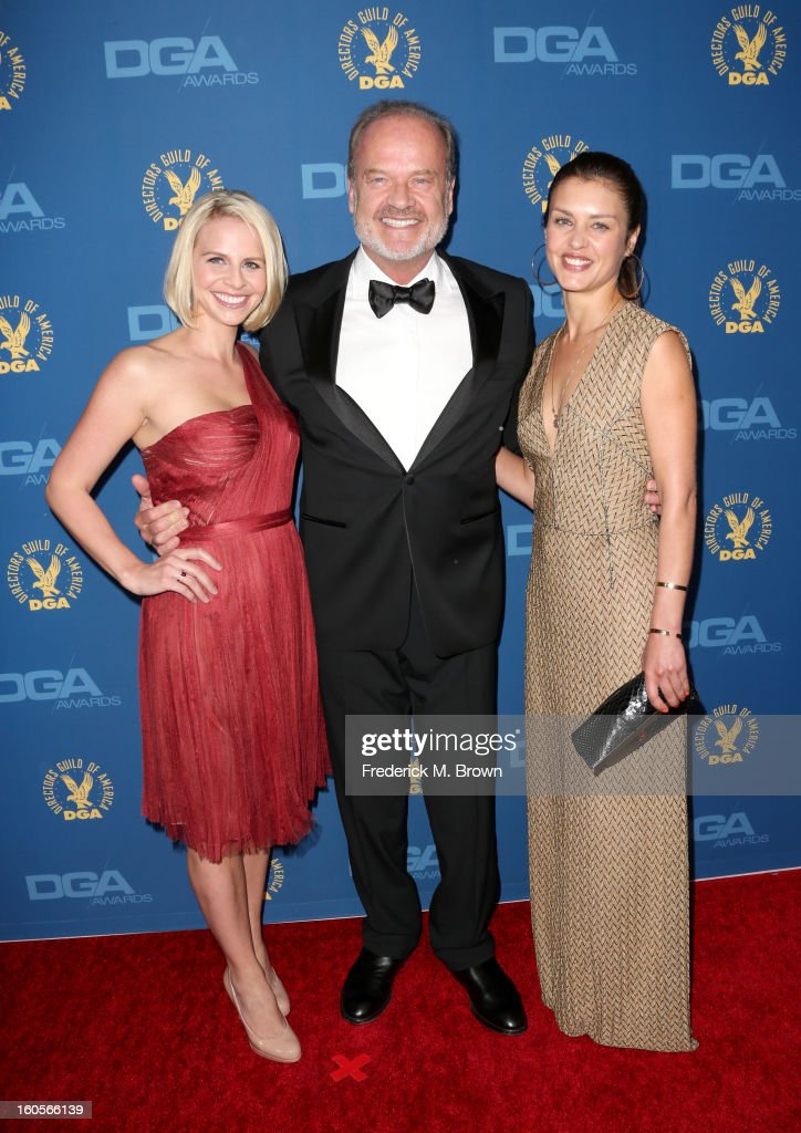 Kayte Walsh, actor Kelsey Grammer and guest attend the 65th Annual Directors Guild Of America Awards at Ray Dolby Ballroom at Hollywood & Highland on February 2, 2013 in Los Angeles, California.