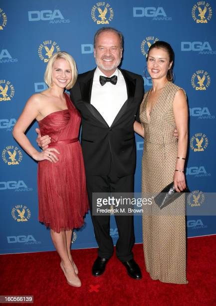 Kayte Walsh actor Kelsey Grammer and guest attend the 65th Annual Directors Guild Of America Awards at Ray Dolby Ballroom at Hollywood Highland on...