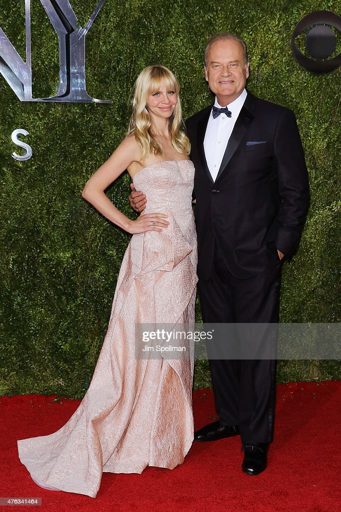 Kayte Walsh and Kelsey Grammer attend American Theatre Wing's 69th Annual Tony Awards at Radio City Music Hall on June 7, 2015 in New York City.