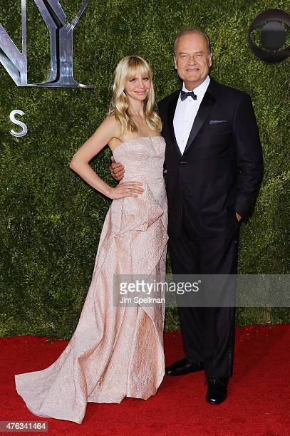 Kayte Walsh and Kelsey Grammer attend American Theatre Wing's 69th Annual Tony Awards at Radio City Music Hall on June 7 2015 in New York City