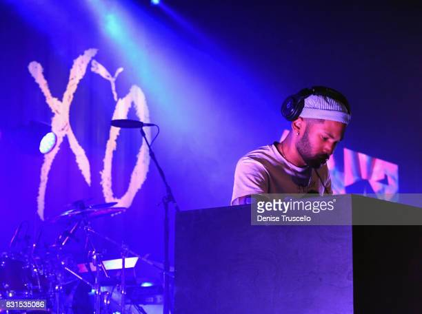Kaytranada performs during the PUMA x XO Launch Event featuring a performance by The Weeknd on August 14 2017 in Las Vegas Nevada