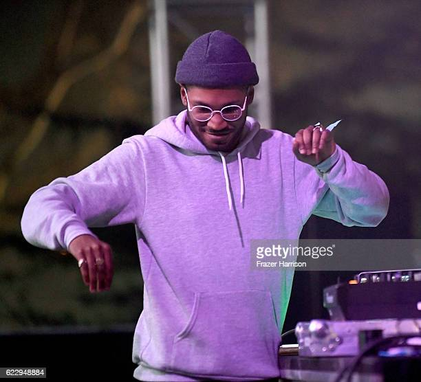 Kaytranada performs on Flog Stage during day one of Tyler the Creator's 5th Annual Camp Flog Gnaw Carnival at Exposition Park on November 12 2016 in...