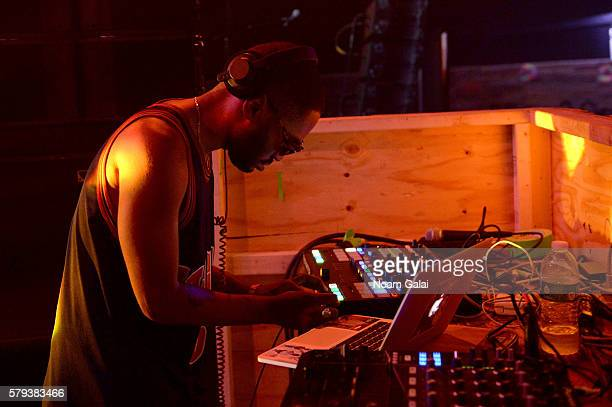 Kaytranada performs onstage at the 2016 Panorama NYC Festival Day 2 at Randall's Island on July 23 2016 in New York City