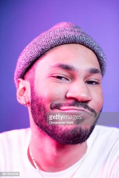 DJ Kaytranada poses for a portrait at the 2017 Juno Awards for The Globe and Mail on April 1 2017 in Ottawa Ontario