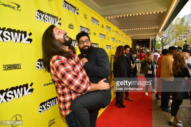 Kayvan Novak and Mousa Kraish attend the The Day Shall Come Premiere 2019 SXSW Conference and Festivals at Paramount Theatre on March 11 2019 in...