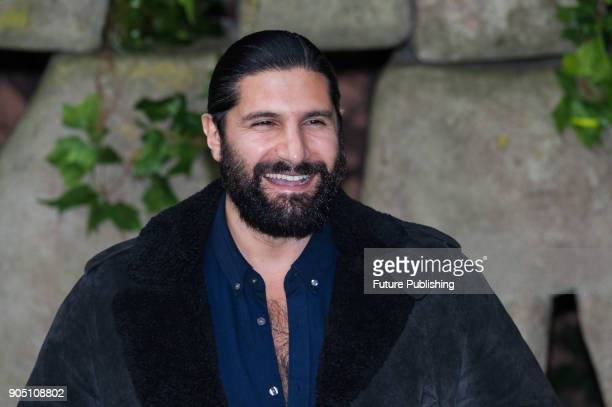 Kayvan Novak arrives for the world film premiere of 'Early Man' at the BFI Imax cinema in the South Bank district of London January 14 2018 in London...