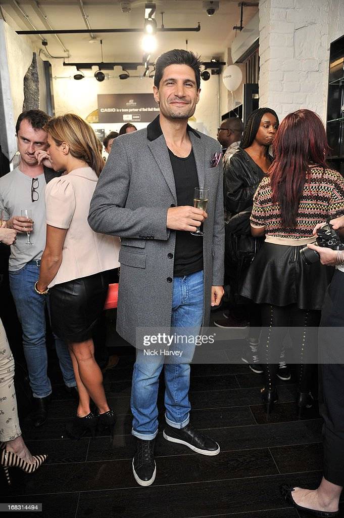 Kayvan Novak attends the Casio London Store 1st birthday party on May 8, 2013 in London, England.