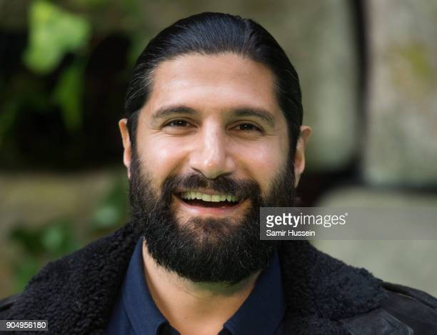 Kayvan Novak attends the 'Early Man' World Premiere held at BFI IMAX on January 14 2018 in London England