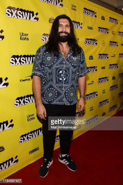 """Kayvan Novak attends the """"What We Do in the Shadows"""" Premiere 2019 SXSW Conference and Festivals at the Paramount Theater on March 08, 2019 in..."""