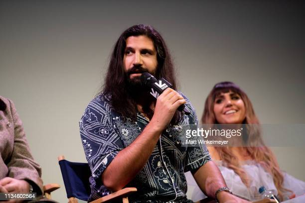 """Kayvan Novak attends the """"What We Do in the Shadows"""" Premiere 2019 SXSW Conference and Festivals at the Paramount Theater at Stateside Theater on..."""