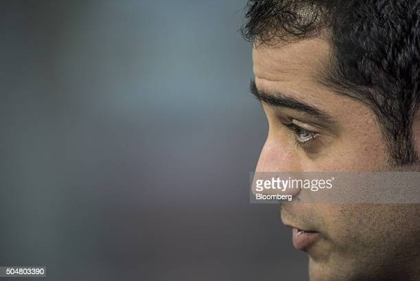 Kayvon Beykpour cofounder and chief executive officer of Periscope speaks during a Bloomberg West Television interview in San Francisco US on Tuesday...