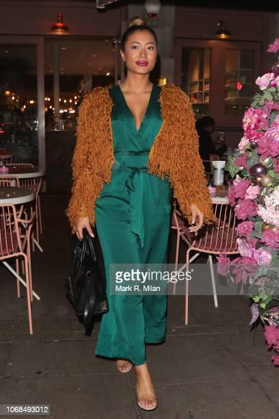Kaz Crossley at the Elan Cafe on November 16 2018 in London England
