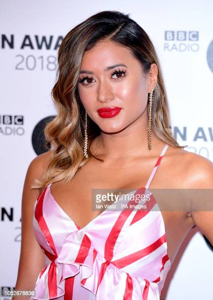 Kaz Crossley attending the BBC Radio 1's Teen Awards held at the SSE Arena Wembley London