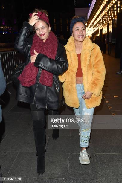 Kaz Crossley attends the European Premiere of Mulan at Odeon Luxe Leicester Square on March 12 2020 in London England