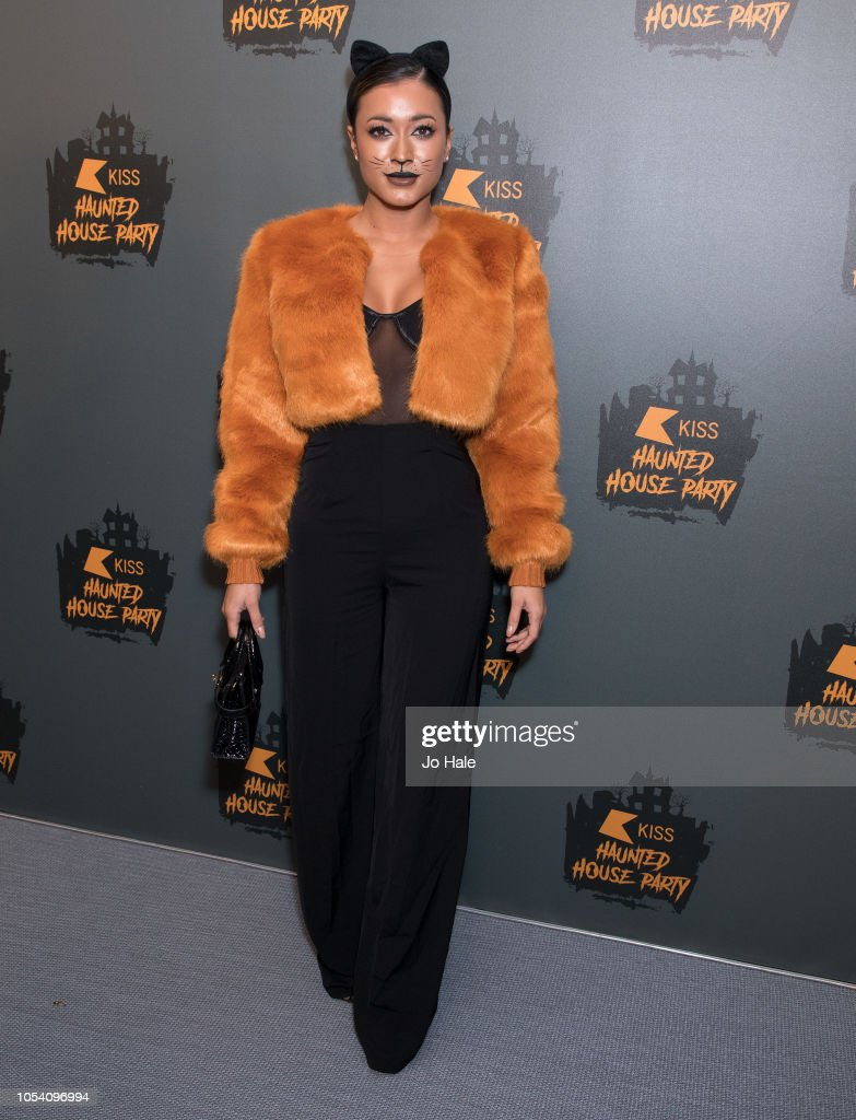 KISS Haunted house Party 2018 - Arrivals : News Photo