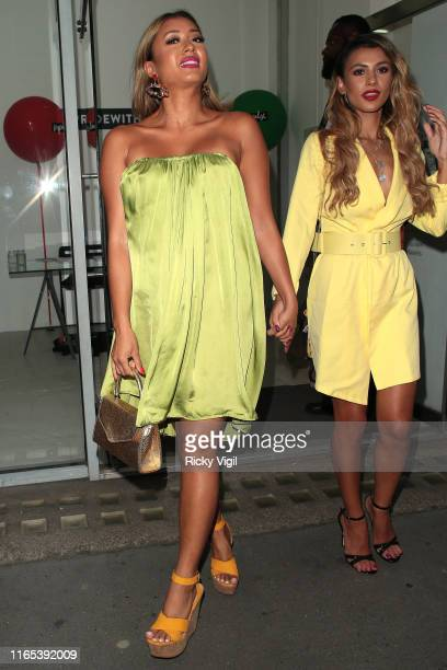Kaz Crossley seen attending Impulse's LoveWalk launch party on July 31 2019 in London England
