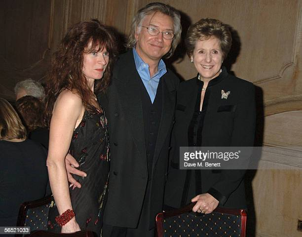 Kaz De Silva actor Martin Shaw and Norma Major attend the after show party following the opening night of Bill Kenwright's production at the...